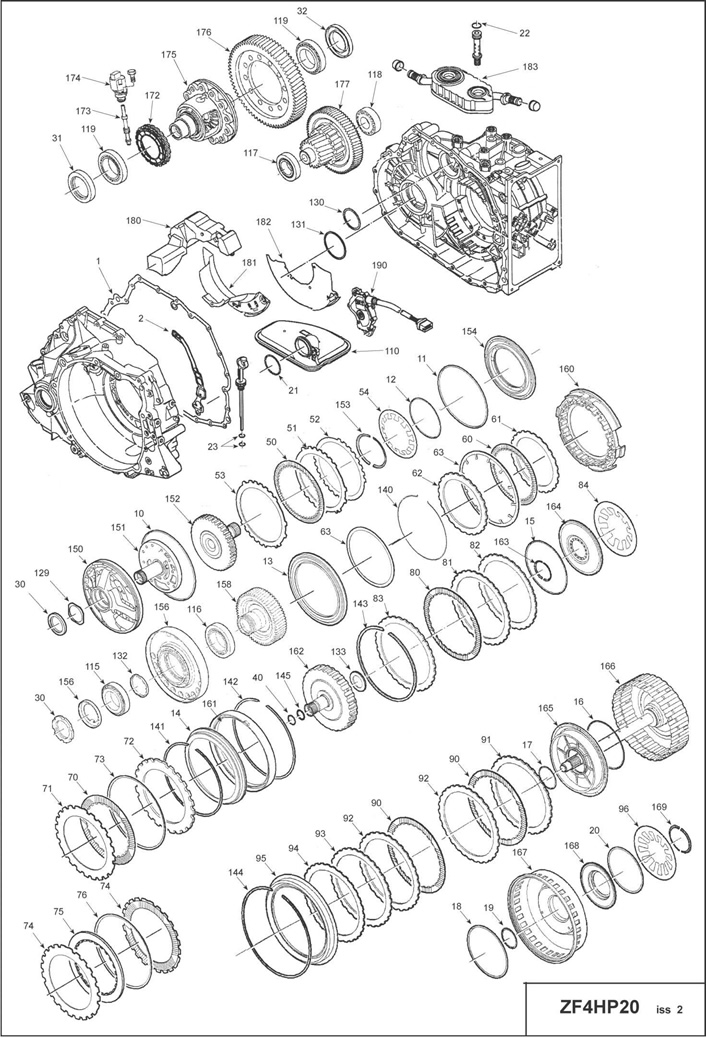 Array - zf transmission repair manuals 4hp20  rh   x909622o beget tech